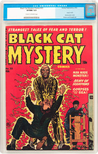 Black Cat Mystery #33 (Harvey, 1952) CGC VF/NM 9.0 Cream to off-white pages