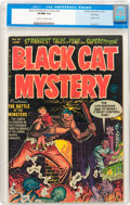 Golden Age (1938-1955):Horror, Black Cat Mystery #36 (Harvey, 1952) CGC VF/NM 9.0 Cream tooff-white pages....