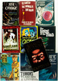 Books:Horror & Supernatural, [Horror & Supernatural]. Group of Ten First Editions, Three ofWhich are SIGNED. Various publishers and dates.... (Total: 10Items)