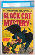 Golden Age (1938-1955):Horror, Black Cat Mystery #41 (Harvey, 1952) CGC VF+ 8.5 Cream to off-whitepages....