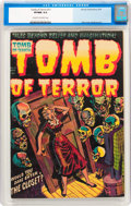 Golden Age (1938-1955):Horror, Tomb of Terror #11 (Harvey, 1953) CGC VF/NM 9.0 Cream to off-whitepages....
