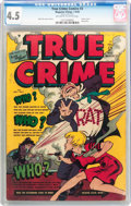 Golden Age (1938-1955):Crime, True Crime Comics #3 (Magazine Village, 1948) CGC VG+ 4.5 Off-white to white pages....