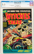 Golden Age (1938-1955):Horror, Witches Tales #20 File Copy (Harvey, 1953) CGC VF 8.0 Cream tooff-white pages....