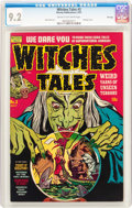 Golden Age (1938-1955):Horror, Witches Tales #3 File Copy (Harvey, 1951) CGC NM- 9.2 Cream tooff-white pages....