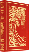 Books:Fine Bindings & Library Sets, Michael Crichton. SIGNED. Rising Sun. Franklin Center: The Franklin Library, 1992....
