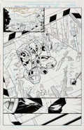 Original Comic Art:Splash Pages, Walter McDaniel Deadpool #23 Splash Page 8 Original Art(Marvel, 1998)....