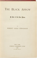 Books:Literature Pre-1900, Robert Louis Stevenson. The Black Arrow: A Tale of the Two Roses. New York: Scribner's, 1888....