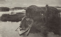 Peter Henry Emerson (British, 1856-1936) Fowler's Return, Plate XX, from Life and Landscape on the N
