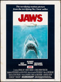 "Movie Posters:Horror, Jaws (Universal, 1975). Poster (30"" X 40""). Horror.. ..."