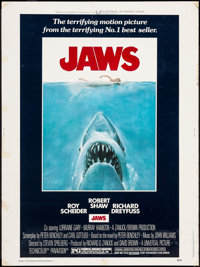 """Jaws (Universal, 1975). Poster (30"""" X 40""""). Horror"""