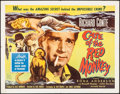 """Movie Posters:Mystery, The Case of the Red Monkey (Allied Artists, 1955). Half Sheet (22"""" X 28""""). Mystery.. ..."""