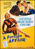 """Movie Posters:Comedy, A Foreign Affair (Paramount, R-1980s). German A1 (23.25"""" X 33""""). Comedy.. ..."""