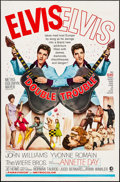 "Movie Posters:Elvis Presley, Double Trouble (MGM, 1967). One Sheet (27"" X 41""). Elvis Presley.. ..."