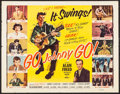 "Movie Posters:Rock and Roll, Go, Johnny, Go! (Hal Roach, 1959). Half Sheet (22"" X 28""). Rock andRoll.. ..."