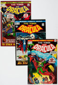 Bronze Age (1970-1979):Horror, Tomb of Dracula Group of 9 (Marvel, 1972-73) Condition: AverageVF.... (Total: 9 Comic Books)