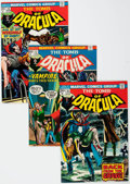 Bronze Age (1970-1979):Horror, Tomb of Dracula Group of 17 (Marvel, 1974-75) Condition: AverageVF.... (Total: 17 Comic Books)
