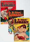Silver Age (1956-1969):Romance, Hi-School Romance File Copies Group of 42 (Harvey, 1950-63)Condition: Average VF-.... (Total: 42 Comic Books)