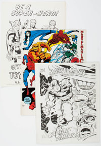 Marvelmania Group of 9 (Marvel, 1969) Condition: Average NM-.... (Total: 9 Items)