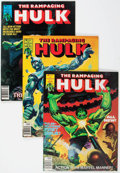 Magazines:Superhero, The Rampaging Hulk Group of 14 (Marvel, 1977-80) Condition: AverageVF/NM.... (Total: 14 Comic Books)