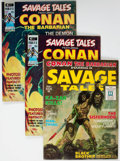 Magazines:Adventure, Savage Tales #1 and 3-11 Group (Marvel, 1971-75) Condition: Average VF/NM.... (Total: 12 Comic Books)
