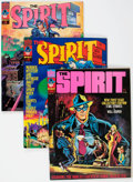 Magazines:Superhero, The Spirit Group of 17 (Warren, 1974-81) Condition: Average NM-....(Total: 17 Comic Books)