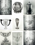 Books:Prints & Leaves, [American Silversmithing]. Archive of Approximately 135 PhotographsRelating to American Silversmithing....