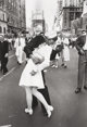 Alfred Eisenstaedt (American, 1898-1995) V-J Day, Times Square, New York City, 1945 Gelatin silver, 1994 17-1/2 x 12