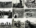 Books:Prints & Leaves, [WWI: Ground Campaign]. Archive of Approximately 175 PhotographsRelating to the Ground Campaign During World War One....
