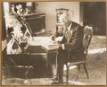 Autographs:Celebrities, John D. Rockefeller Signed Photo....
