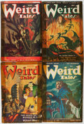 Pulps:Horror, Weird Tales Group (Popular Fiction, 1945-48) Condition: AverageGD.... (Total: 6 Items)