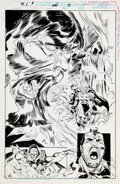 Original Comic Art:Splash Pages, John Buscema (attributed) and Jerry DeCaire Marvel ComicsPresents Unpublished Black Knight Story Page 5 Original ...