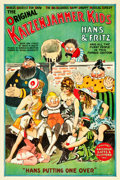 "Movie Posters:Animation, The Katzenjammer Kids (circa 1918). Stage Play Poster (28"" X 42"").. ..."