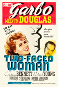 """Movie Posters:Comedy, Two-Faced Woman (MGM, 1941). One Sheet (27"""" X 41"""") Style C.Comedy.. ..."""