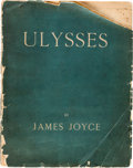 Books:Literature 1900-up, James Joyce. Ulysses. Paris: Shakespeare and Company, 1922.First edition, number 589 of 750 copies printed on handm...
