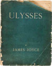 James Joyce. Ulysses. Paris: Shakespeare and Company, 1922. First edition, number 589 of 750 co