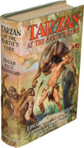 Books:Science Fiction & Fantasy, Edgar Rice Burroughs. Tarzan at the Earth's Core. New York:Metropolitan Books, [1930]. First edition....