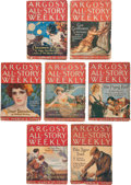 Books:Pulps, Edgar Rice Burroughs. The Chessmen of Mars. Completeseven-part serial in Argosy All-Story Weekly, February 18t... (Total: 7 Items)