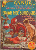 Books:Pulps, Edgar Rice Burroughs. The Master Mind of Mars. In AmazingStories Annual, Vol. No. 1. New York: Expe...