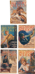 Books:Pulps, Edgar Rice Burroughs. Tarzan and the Valley of Luna. In TheAll-Story Magazine. New York: The Frank A. Munsey, C... (Total: 5Items)