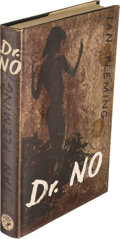 Books:Mystery & Detective Fiction, [James Bond]. Ian Fleming. Dr No. London: Jonathan Cape,[1958]. First edition, in second state binding (front board...