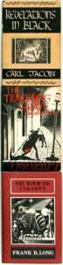 Books:Horror & Supernatural, [Horror]. Group of Three Short Story Collections. Includes: CarlJacobi. Revelations in Black. Sauk City, Wi... (Total: 3Items)