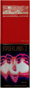 Books:Horror & Supernatural, [Charles L. Grant, Joe R. Lansdale, et al (contributors)]. ThomasF. Monteleone, editor. SIGNED/LIMITED. Borderlands... (Total: 2Items)