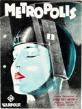 "Movie Posters:Science Fiction, Metropolis (UFA, 1927). British Program (Multiple Pages, 7.5"" X10"").. ..."