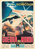 "Movie Posters:Science Fiction, The War of the Worlds (Paramount, 1953). Italian 2 - Fogli (39.5"" X55"").. ..."