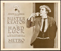 "Movie Posters:Comedy, Hard Luck (Metro, 1921). Title Lobby Card (11"" X 13"").. ..."