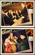 "Movie Posters:Crime, The Unholy Three (MGM, 1930). Lobby Cards (2) (11"" X 14"").. ...(Total: 2 Items)"