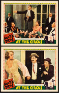 "Movie Posters:Comedy, At the Circus (MGM, 1939). Lobby Cards (2) (11"" X 14"").. ...(Total: 2 Items)"