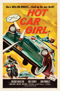"Movie Posters:Exploitation, Hot Car Girl (Allied Artists, 1958). One Sheet (27"" X 41"").. ..."