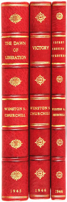 Winston Churchill. Three Volumes of War Speeches. London: Cassell and Company Ltd., [1944-1946]