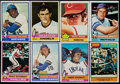 Baseball Cards:Sets, 1976 Topps Baseball Complete Set (660) Plus Traded Set (44)....